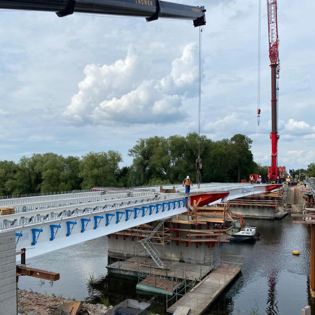 L 963 Ersatzneubau der Brücke in Milow | proVIA